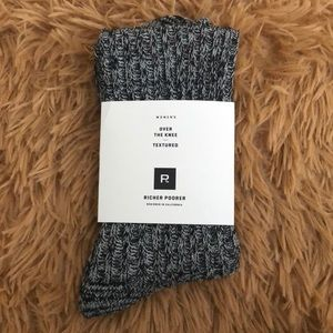 NWT: over the knee socks